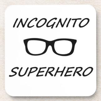 Incognito Superhero 01B Beverage Coasters