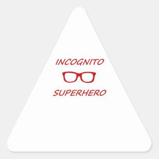 Incognito Superhero 01R Triangle Sticker