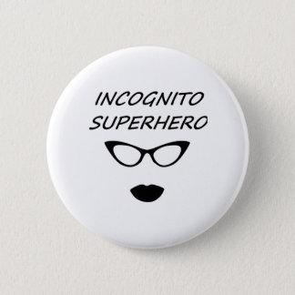 Incognito Superhero 03B Pinback Button