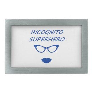 Incognito Superhero 03BL Belt Buckle
