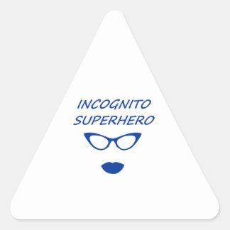 Incognito Superhero 03BL Triangle Sticker