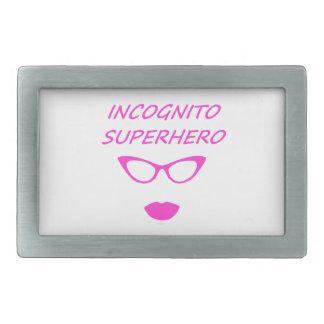 Incognito Superhero 03P Belt Buckle