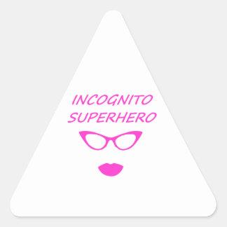 Incognito Superhero 03P Triangle Sticker
