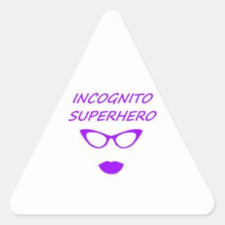 Incognito Superhero 03PR Triangle Sticker
