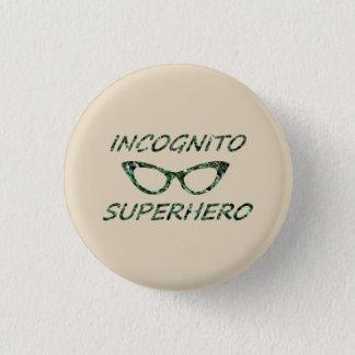 Incognito Superhero Pinback Button
