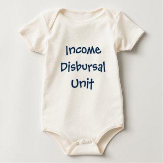 Income Disbursal Unit Baby Bodysuit