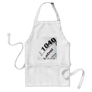 Income Tax Form 1040 Adult Apron