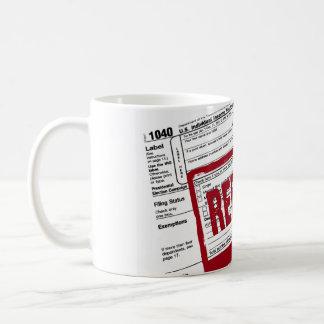 Income Tax Refund Classic White Coffee Mug