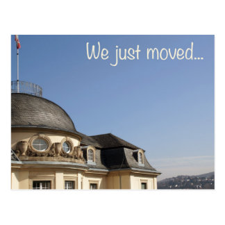Incoming goods just moved… - We moved Postcard