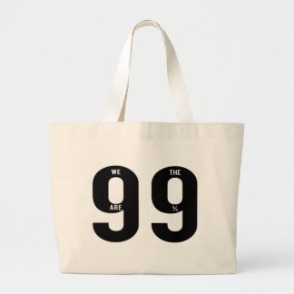 Incoming goods of acres the 99 Percent. Large Tote Bag