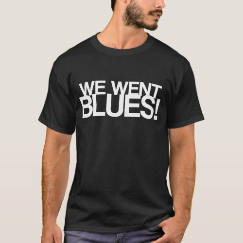 INCOMING GOODS WENT BLUES DARK EDITION T_Shirt