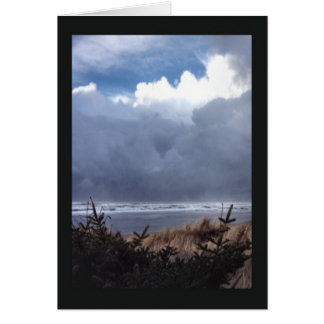 Incoming Storm Clouds Greeting Cards