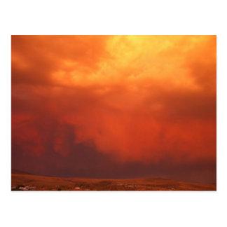 Incoming Storm Postcard