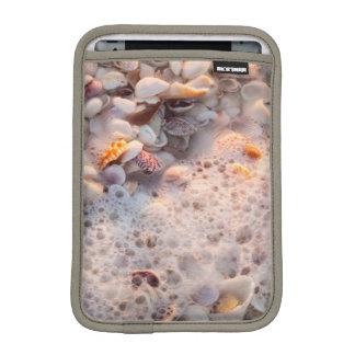 Incoming Surf And Seashells On Sanibel Island iPad Mini Sleeve