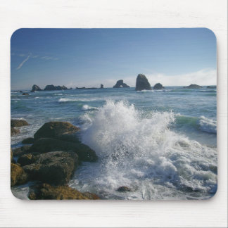 Incoming tide mouse mats