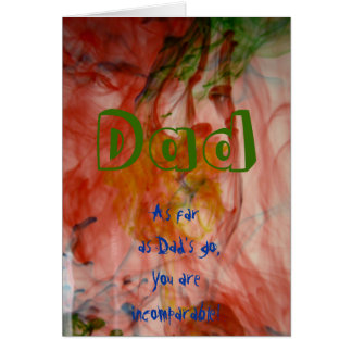 Incomparable- Father's Day Card