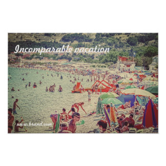 incomparable vacation print