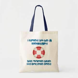 Incompetent Lifeguard Tote Bag