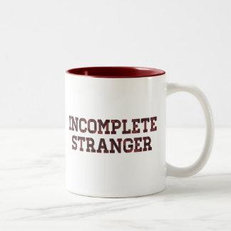 Incomplete Stranger Two-Tone Coffee Mug
