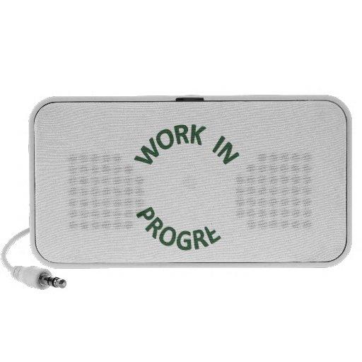 Incomplete Work in Progress Mini Speaker