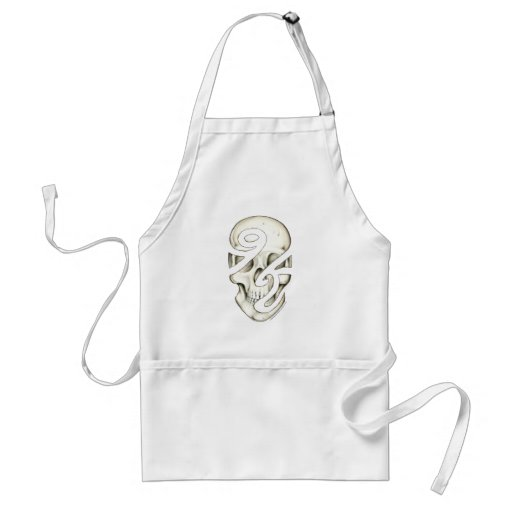 Incompletely Human Apron