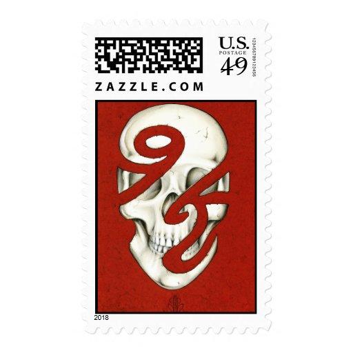 Incompleto sellos del ser humano