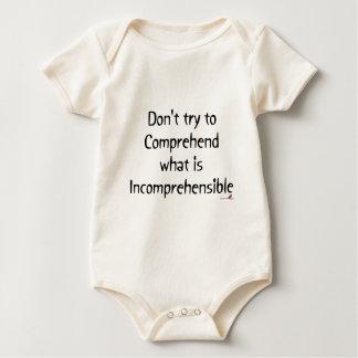 Incomprehensible Baby Bodysuit