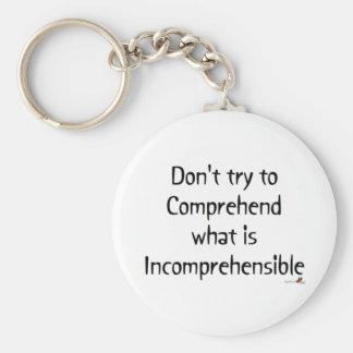 Incomprehensible Keychain
