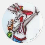 Inconformista 2 de Bugs Bunny Pegatina Redonda
