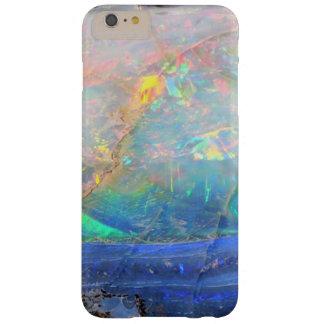 Inconformista bling mineral del bokeh de la falsa funda de iPhone 6 plus barely there