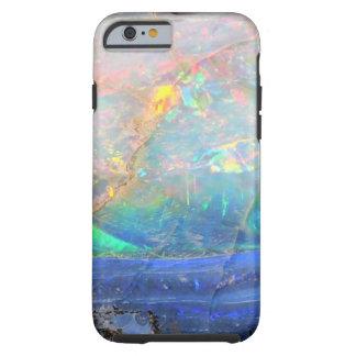 Inconformista bling mineral del bokeh de la falsa funda de iPhone 6 tough