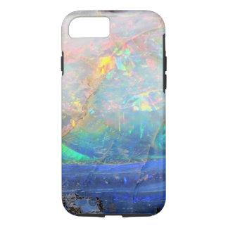 Inconformista bling mineral del bokeh de la falsa funda iPhone 7