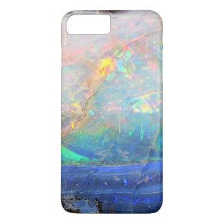 Inconformista bling mineral del bokeh de la falsa funda iPhone 7 plus