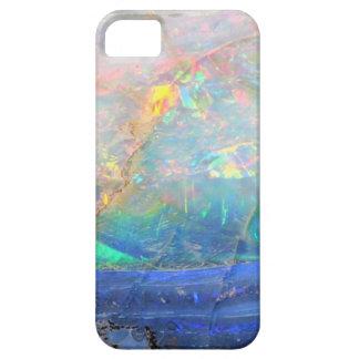 Inconformista bling mineral del bokeh de la falsa funda para iPhone 5 barely there
