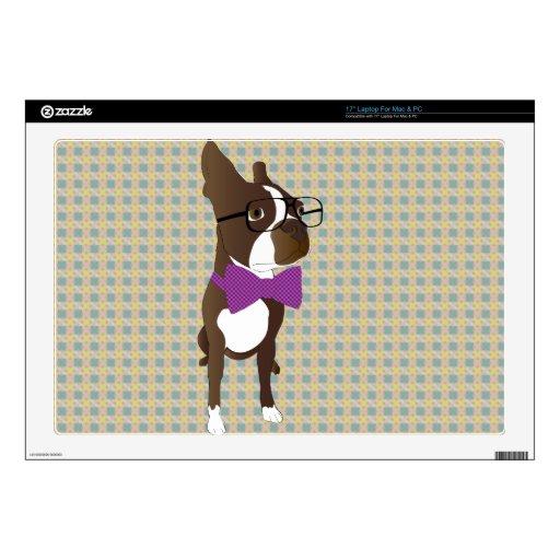 Inconformista Boston Terrier Portátil Skins