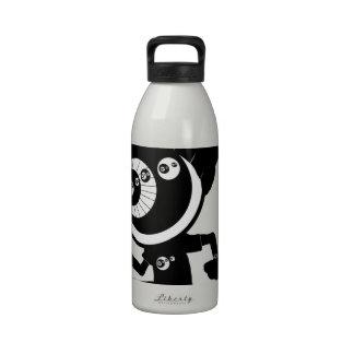 inconformista botella de agua