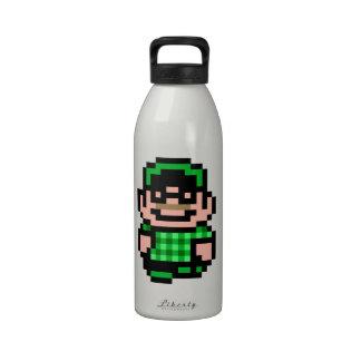 inconformista de 8 bits botellas de agua reutilizables