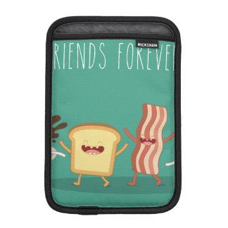 Inconformista de la comida, modelo, amigos para funda para iPad mini