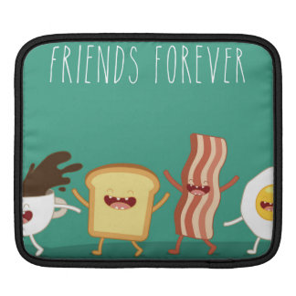 Inconformista de la comida, modelo, amigos para fundas para iPads