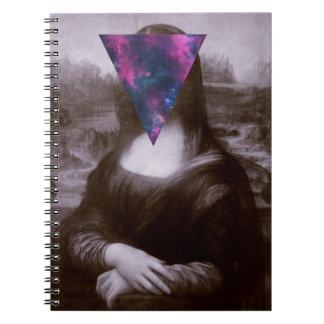 Inconformista de Mona Lisa Libretas Espirales
