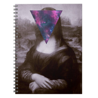 Inconformista de Mona Lisa Libro De Apuntes