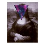 Inconformista de Mona Lisa Tarjetas Postales