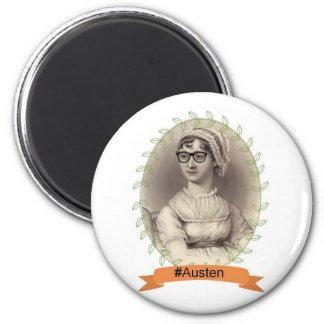 Inconformista Jane Austen Imán Redondo 5 Cm