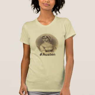 Inconformista Jane Austen Camiseta