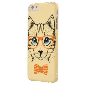Inconformista lindo fresco del gato funda de iPhone 6 plus barely there