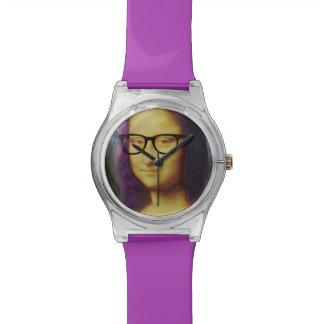 Inconformista moderno Mona de Lisa Reloj