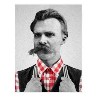 Inconformista Nietzsche Tarjetas Postales