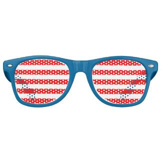 Inconformista patriótico demasiado fresco los lentes de sol