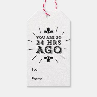 Inconformista usted es hace tan 24 horas de etiquetas para regalos