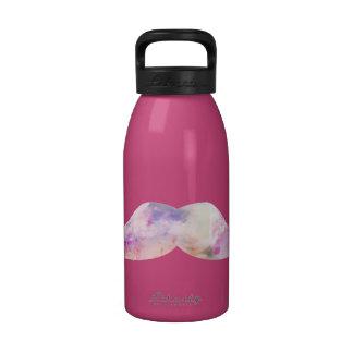 Inconformistas coloridos de los bigotes del gentel botellas de agua reutilizables